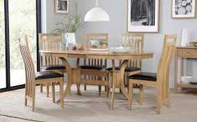 gallery townhouse oval extending dining table and 4 bali chairs set
