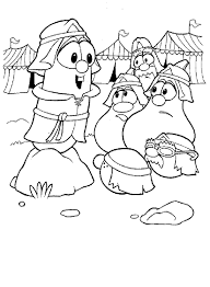 Small Picture Download Coloring Pages Veggie Tales Coloring Pages Veggie Tales