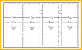4 Panel Brochure Template Accordion Fold Template Indesign 4 Panel Brochure Mock Up