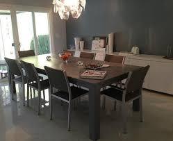 urban modern furniture. Urban Modern Dining Room- Roca Table Show Me Modern! This Block Leg Is Our In A Dark Smokey Finish. Furniture N