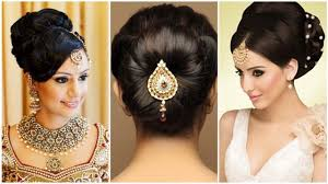 Indian Bun Hairstyles For Medium Hair Traditional Hairstyles For