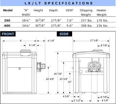Pool Heater Btu Chart Jandy Laars Lx Lt Gas Pool Heater