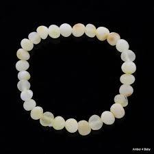 Teething :: Bracelets :: <b>Raw Baltic Amber Teething</b> Bracelet for Babies