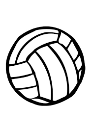Small Picture volleyball coloring page for kids Download Print Online