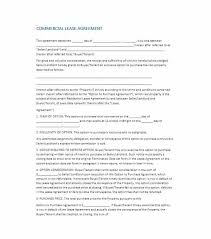 Free Commercial Lease Agreements Forms Business Property Lease Agreement Template Free Free Commercial