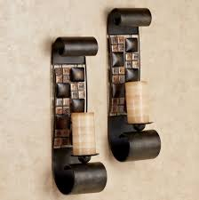 wooden candle holder wall designs