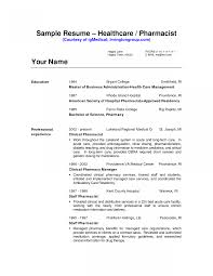 Hospital Pharmacist Resume Pdf Objective Examples Clinical In India