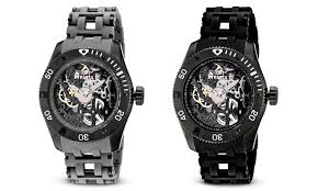 invicta men s sea spider watches groupon goods invicta men s sea spider mechanical skeleton watches invicta men s sea spider mechanical skeleton watches