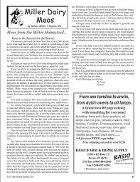 the connection amish magazine sample pages connection sample miller dairy moos