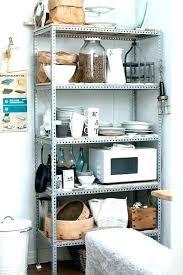 metal shelves for kitchen wall metal kitchen wall shelves ideas of using open kitchen wall shelves