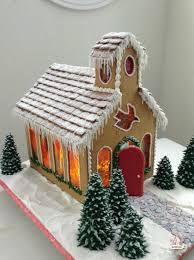 Ideas using gingerbread christmas home decorations Ginger Bread Gingerbread Church Morningchores 24 Easy Gingerbread House Ideas That Are Totally Worth It