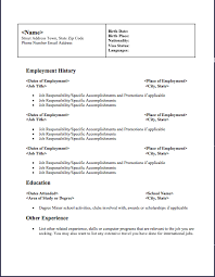 Free Resume Downloads Simple Free Professional Resume Template Downloads Resume Badak