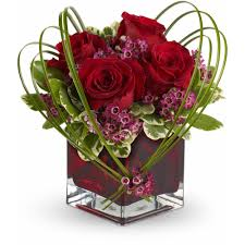teleflora s sweet thoughts bouquet with red roses