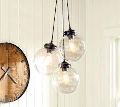 multi glass pendant chandelier designs light clear jar full size