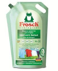 """<b>Жидкое средство для стирки</b> """"Frosch"""", для цветного белья, 2 л ..."""