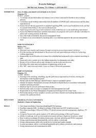 Shift Engineer Resume Samples Velvet Jobs