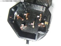 ignition switch wiring 12v ford truck enthusiasts forums 79 Ford Ignition Switch Wiring the 1977 and earlier switch 1979 ford ignition switch wiring