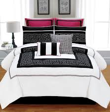 red white and black comforters bedding sets bright sopicated queen comforter pillow set cotton tropical king