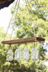 mason jar lights outdoor mason jar chandelier diy ideas with mason jars for outdoor
