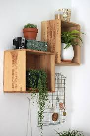 Wine Box Shelf