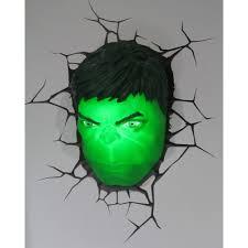 on 3d wall art nightlight with the avengers 3d wall art nightlight hulk head