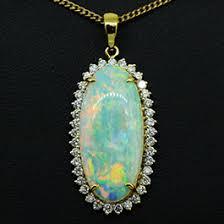 with attractive shape designer jewellery opal pendants