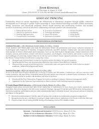 Leadership Resume Samples Resume For Study