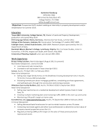 Objective In Internship Resume student internship resume student internship resume example 61