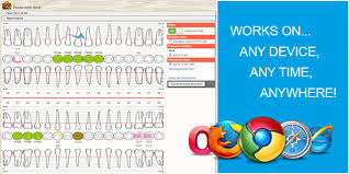 Periodontal Charting Online Free Online Patient Records And Charts Dentalcharting Com
