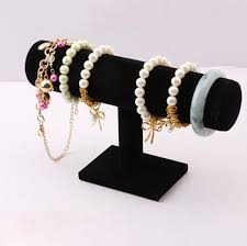 Black Velvet Jewelry Display Stands Cheap Bracelet Jewelry Stand find Bracelet Jewelry Stand deals on 22