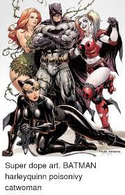 Batman harley quinn catwoman