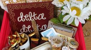 basket gifts tri delta little basket