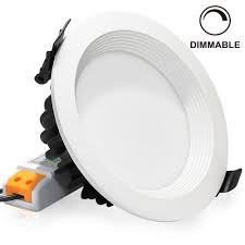15w 5 inch dimmable retrofit led recessed light