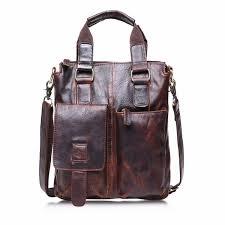 leather briefcases men vintage buffalo leather messenger satchel laptop briefcase men s bag crazy briefcases computer o0605