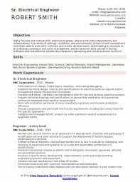 Electrical Engineering Sample Resumes Electrical Engineer Resume Samples Qwikresume