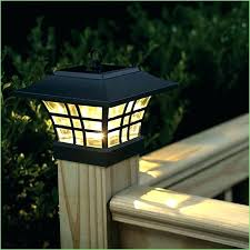 outdoor solar lamp post lights garden