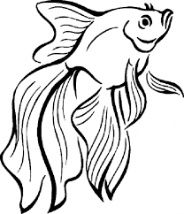 Small Picture Coloring Pages Siamese Fighting Fish Coloring Page Free Printable