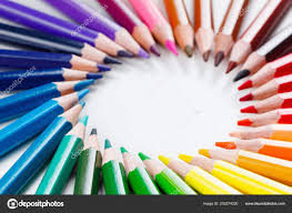 <b>Набор Цветных Карандашей</b> Рисования <b>Крупным</b> Планом ...