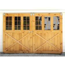 Beautiful Bypass Sliding Garage Doors Of Barn Style Exterior In Design Ideas