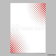 Brochure Graphic Design Background Halftone Dot Pattern Flyer Template Vector Brochure