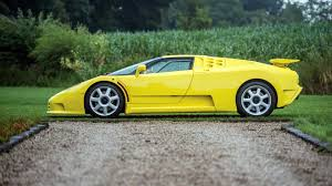 The eb 110 was the only model produced by bugatti under the ownership of romano artioli. The Only Yellow Bugatti Eb110 Ss With Red Interior Is For Sale