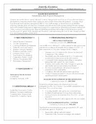 Resume Examples Sales Representative – Resume Sample Source