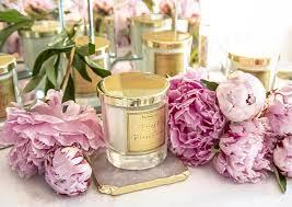 <b>Peony</b> & Blush Suede Bougie Scented Candle – <b>Maria</b> Zara