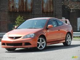 2005 Blaze Orange Metallic Acura RSX Type S Sports Coupe #62865514 ...