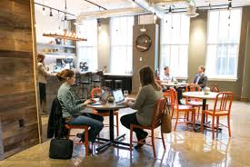 Image Fueled Collective Assembles Downtown Minneapolis Space Offers 47 Private Offices As Well As Coworking Space In Either Our Café Or Our Collaborative Space Pinterest Assemble Shared Office Cospace Copass