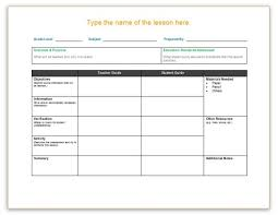 downloadable lesson plan templates lesson plan template word sadamatsu hp