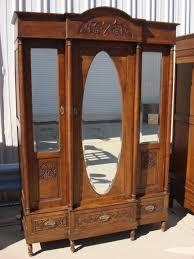 vintage antique furniture wardrobe walnut armoire. Incredible Bedroom Wardrobe Armoires Antique Wardrobes And Furniture From Vintage Walnut Armoire T