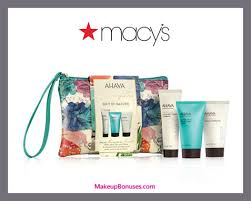 receive a free 4 pc gift with 35 ahava purchase