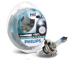 <b>Лампы</b> H4 <b>Philips X</b>-<b>treme</b> Vision +100%, 2 шт. - BIxen.ru