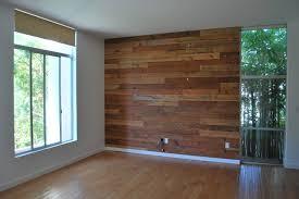 Custom Reclaimed Wood Accent Wall rustic